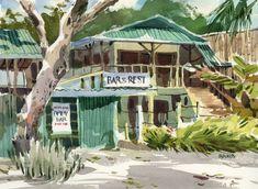 Costa Rica — Shari Blaukopf Watercolours