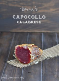 Capocollo Calabrese - Italian Homemade Ham