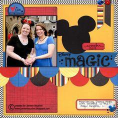 Disney Magic - Scrapbook.com