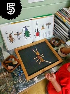Love this idea! Build a bug activity. To use with our microscope bug slides in spring! Love this idea! Build a bug activity. To use with our microscope bug slides in spring! Bug Activities, Learning Activities, Preschool Activities, Preschool Bug Theme, Creative Curriculum Preschool, Emergent Curriculum, Quiet Time Activities, Free Preschool, Play Based Learning