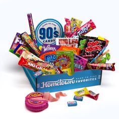 Hometown Favorites 1990's Nostalgic Candy Gift Box, Retro 90's Candy, 3-Pound: Amazon.com: Grocery & Gourmet Food