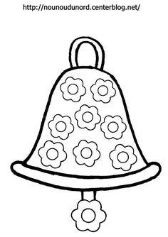 Coloriage cloche de p ques dessin par nounoudunord paques oeuf lapin - Coloriage lapin fleur ...