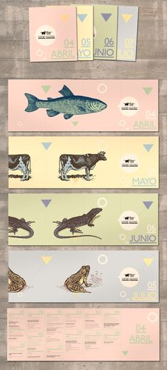 Agenda ccec by Ramiro Lozada, via Behance - Graphic design - Print design