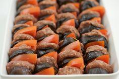 Maldoum: Syrian eggplant, meat, tomato bake