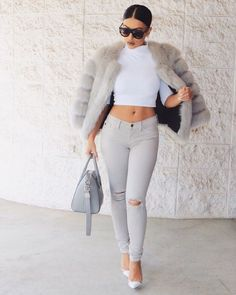 Elegant Outfit Style For Late Autumn