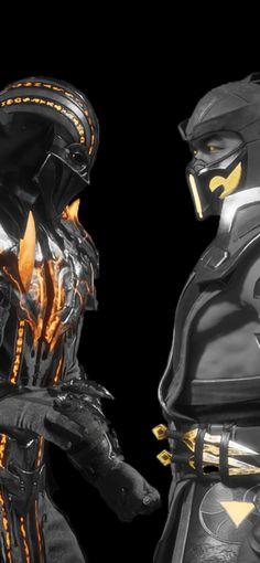 This is a Lock/Home screen pack inspired by Noob Saibot and Sub-Zero in their Kombat League Skins. Liu Kang And Kitana, Noob Saibot, Mortal Kombat Art, Black Manta, Predator Alien, Mortal Combat, Demon Art, The Evil Within, King Of Fighters
