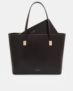 70728ee99d CHELSEY Leather large shopper bag  TedToToe Ted Baker Shopper Bag