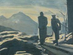 Luc Tuymans - De Wandeling (1993)