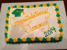 Graduation cake.