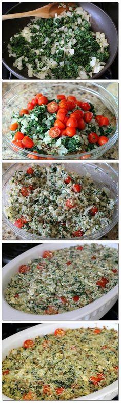 Recipe Best: Mediterranean Quinoa Casserole #healthy #quinoa #casserole