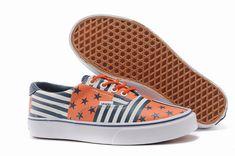 7a4f852a0e Vans Era Blue Orange Men s Shoes  Vans Mens Shoes Online