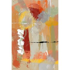 Maxwell Dickson 'Autumn' Abstract Wall Art