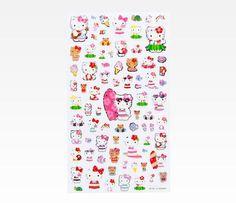 Hello Kitty Sticker Sheet: Gloss