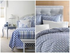 decorating with blue and white - Google Search