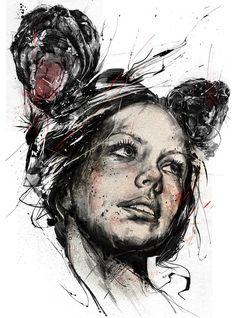 Illustrations by Russ Mills ~ #art
