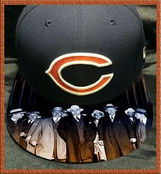 Chicago Bears Authentic New Era Fitted or Snapback Cap with Capone Special Price-Modified Brim-Perso Nfl, Chicago Bears Wallpaper, Mens Dress Hats, Fitted Caps, Custom Fitted Hats, Basketball Shoes For Men, Superman, Custom Caps, New Era Fitted