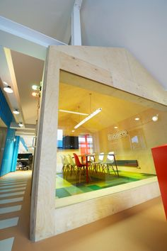 Broncos Playful and Colorful Offices