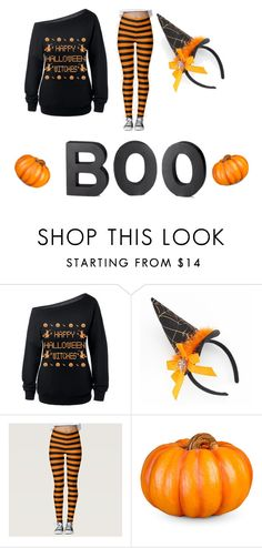 """""""Halloween teen fashion"""" by madk5654 ❤ liked on Polyvore featuring Improvements and Crate and Barrel"""
