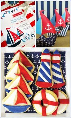 nautical cookies, Too cute!