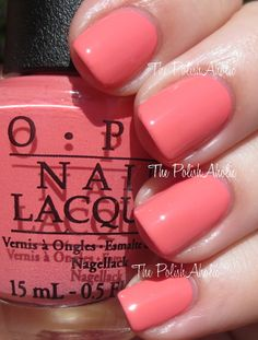 OPI Coca-Cola Collection, Sorry I'm Fizzy Today is a light pink.