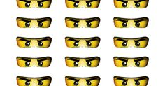 Ninjago Eyes Printable