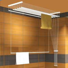 68 ideas for bathroom closet laundry drying racks Drying Rack Laundry, Laundry Dryer, Clothes Drying Racks, Laundry Closet, Bathroom Closet, Drying Cupboard, Outdoor Laundry Rooms, Drying Room, Closet Lighting