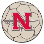 Ncaa Nicholls State University Cream (Ivory) 2 ft. 3 in. x 2 ft. 3 in. Round Accent Rug