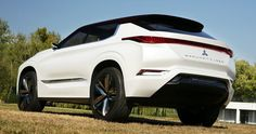 Mitsubishi's GT-PHEV Concept Offers An Overzealous Glimpse At Next Outlander #Concepts #Mitsubishi