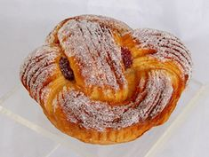Artificial Twisted Fruit Pastry