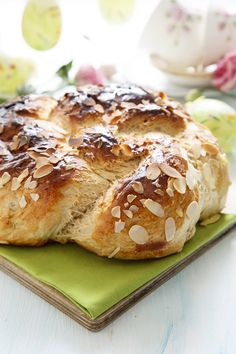 Home is in the kitchen - Пасхальный хлеб