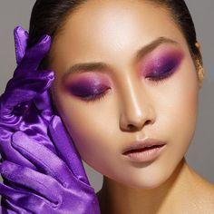 "1ec39f7efd1 Danessa Myricks Beauty on Instagram  ""✨Ultra violet vibes ✨Pt2 Colorfix  Smoky Eyes in Majesty   Wild Orchid . Makeup  Danessa Myricks Photo  ..."