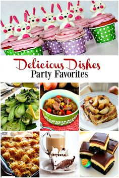 Here are the party favorites from last week's Delicious Dishes Recipe Party #9.