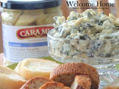 Welcome Home Blog: Easy Spinach Artichoke Dip