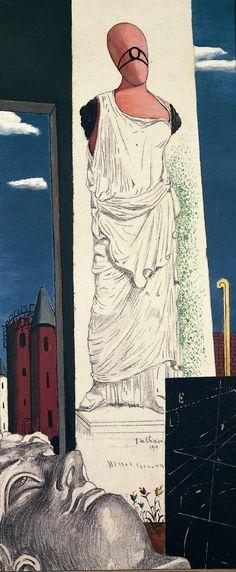 Giorgio de Chirico - - The never-ending journey, 1914 De Chirico, Art Museum, Surrealist, Surreal Art, Painting, Traditional Paintings, Surrealism, Art, Italian Artist