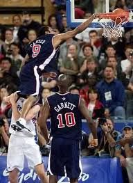 Vince Carter did the impossible dunking over a 7 foot player in game!