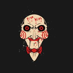 Check out this awesome 'Billy+The+Saw' design on Horror Posters, Horror Icons, Horror Comics, Jigsaw Doll, Jigsaw Saw, Saw Drawing, Jigsaw Tattoo, Jigsaw Movie, Scary Paintings