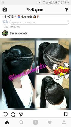 Black Girl Braids, Girls Braids, Ballroom Hair, Aiko, Ponytail Hairstyles, Braid Styles, Protective Styles, Hair Care, Natural Hair Styles
