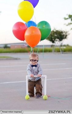 Cute.  Old man from Up.