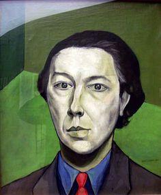 Brauner, Victor (1903-1966) - 1934 Portrait of Andre Breton (Musée d'Art Moderne de la Ville de Paris, France) by RasMarley, via Flickr