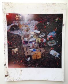 Stephen Gill, Buried Stephen Gill, Experimental Photography, Polaroid, Sugar, Change, Fine Art, Painting, Kunst, Painting Art
