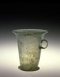 Mug or Measure, Roman Empire, 1-199. 61.1.8.Roman Glass ArtifactsMore Pins Like This At FOSTERGINGER @ Pinterest