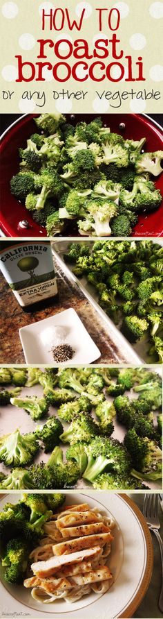 how to roast broccoli - by far my favorite way to eat it. | www.livecrafteat.com