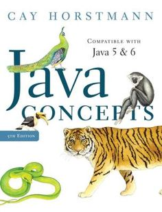 Required Text for AP Computer Science A; Java Concepts by Cay Horstmann  ISBN:9780470105559