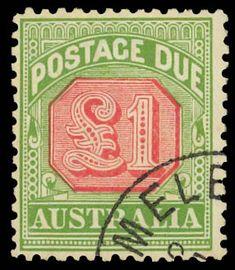 Australia Postage Stamp - Postage Due