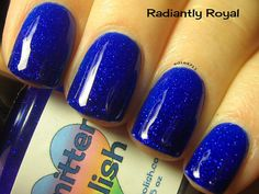 Smitten Polish - Radiantly Royal