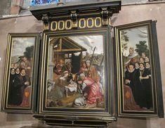 Chiesa di nostra signora, bruges, int., altare di pieter pourbus, 1574 01.JPG