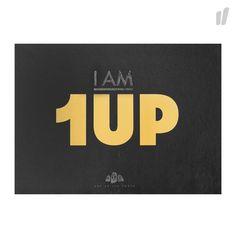 """1UP """" I am 1UP """" Buch - http://www.overkillshop.com/de/product_info/info/14079/"""
