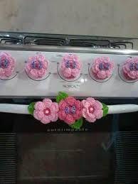 Hobbies For Seniors Info: 5642474839 Crochet Potholder Patterns, Crochet Borders, Crochet Cozy, Diy Crochet, Felt Flowers, Crochet Flowers, Hobbies And Crafts, Diy And Crafts, Crochet Home Decor
