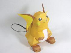 riachu paper craft