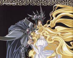 Magic Knight Rayearth: Emeraude and Zagato 2 Manhwa Manga, Manga Anime, Anime Art, Magic Knight Rayearth, Familia Anime, Anime Love Couple, Manga Love, Manga Comics, Magical Girl